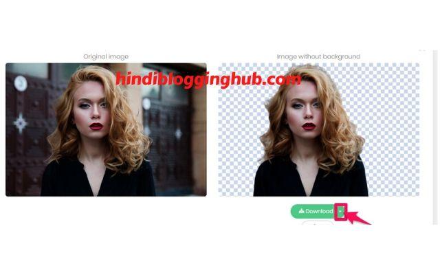 Remove photo background online